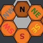 8 шестикутників