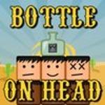 Пляшка на голові