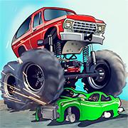 Вантажівки-Монстри: Сальто