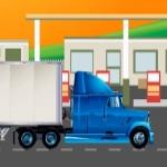 Паркування великої вантажівки