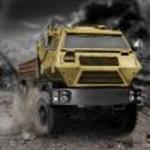 Водій військової вантажівки