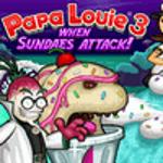 Папа Луї 3: Коли морозиво з фруктами атакує